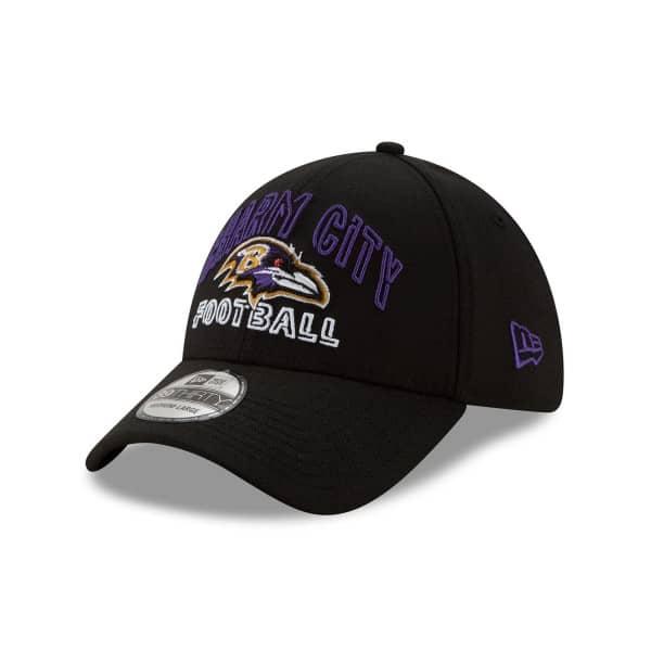Baltimore Ravens 2020 NFL Draft New Era 39THIRTY Flex Fit Cap Alternate