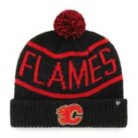 Calgary Flames Black Wraparound NHL Wintermütze