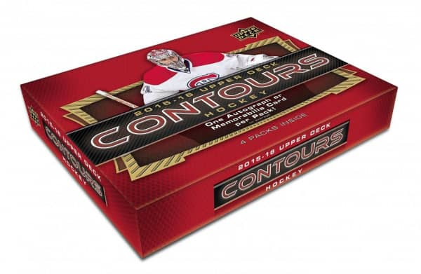 2015/16 Upper Deck Contours Hockey Hobby Box NHL