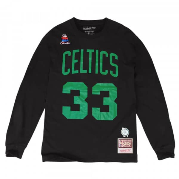 Larry Bird #33 Boston Celtics Mitchell & Ness NBA Longsleeve Shirt