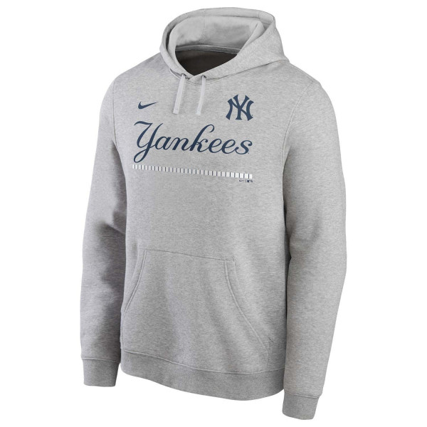 New York Yankees Color Bar Nike Club Fleece MLB Hoodie