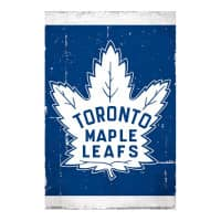 Toronto Maple Leafs Retro Team Logo Eishockey NHL Poster