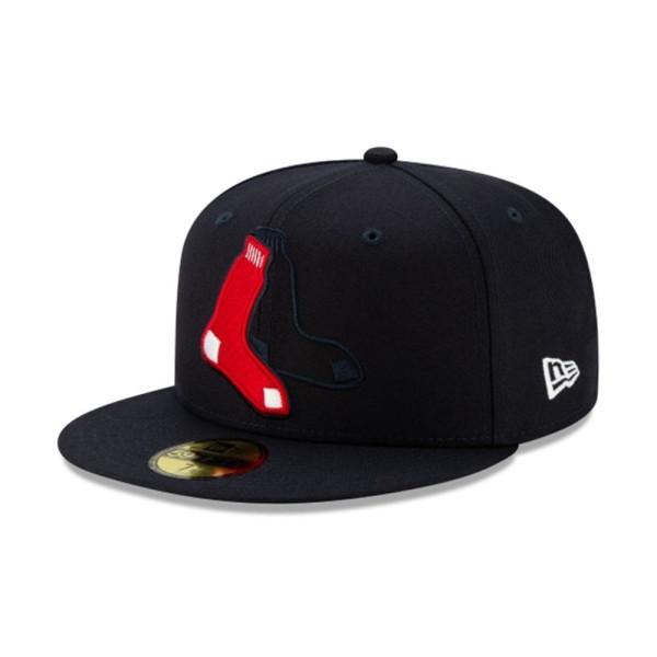 Boston Red Sox Logo Elements New Era 9FIFTY Snapback MLB Cap
