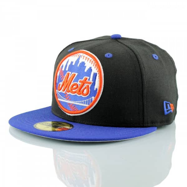 New York Mets 2-Tone XL Logo 59FIFTY Fitted MLB Cap