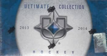 2013/14 Upper Deck Ultimate Collection Hockey Hobby Box NHL