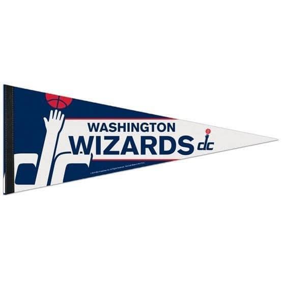 Washington Wizards Big Logo Premium NBA Wimpel
