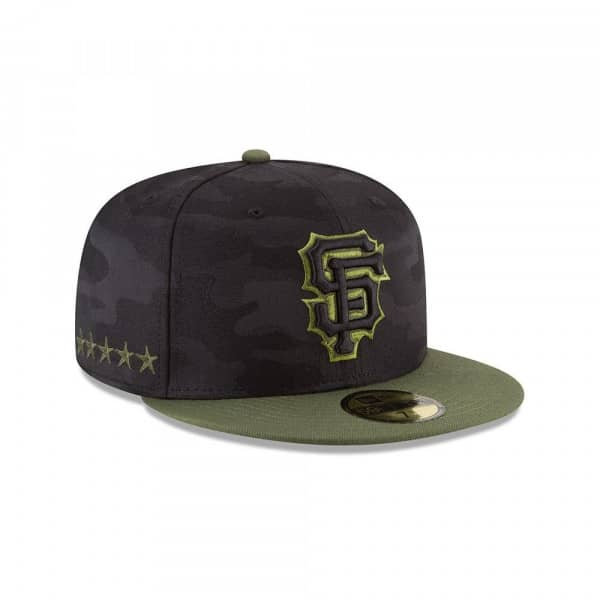 best cheap 8c8d0 e65cb San Francisco Giants 2018 Memorial Day 59FIFTY Fitted MLB Cap