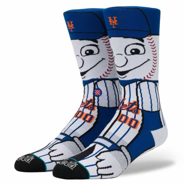 New York Mets Mr. Met Maskottchen MLB Socken