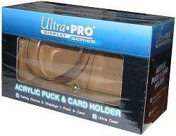 Ultra Pro Puck & Card Holder Acrylic Display