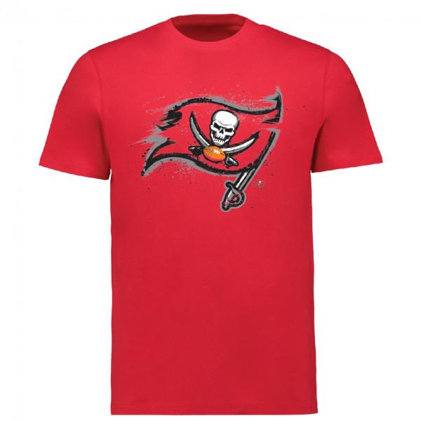 Tampa Bay Buccaneers Splatter NFL T-Shirt