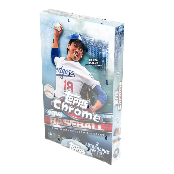2016 Topps Chrome Baseball Hobby Box MLB