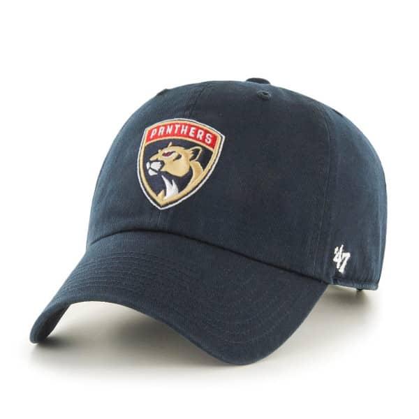 Florida Panthers Clean Up Adjustable NHL Cap Navy
