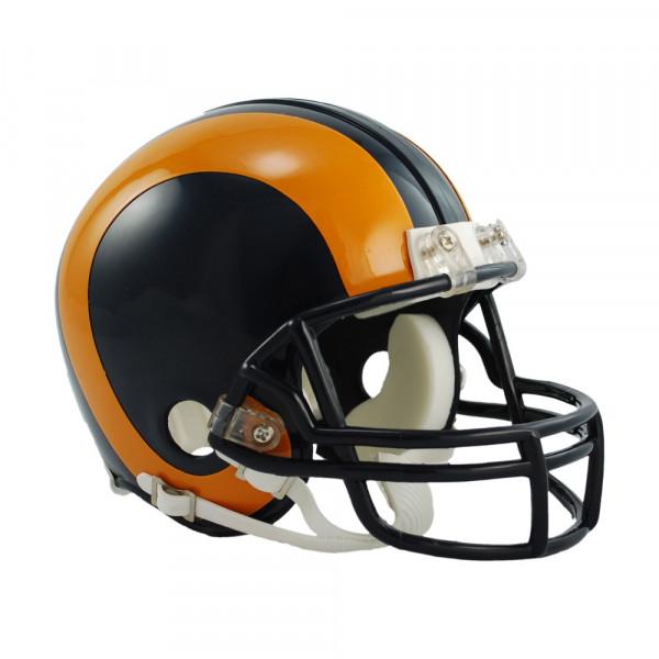 Los Angeles Rams NFL Throwback Mini Helmet (1981-99)