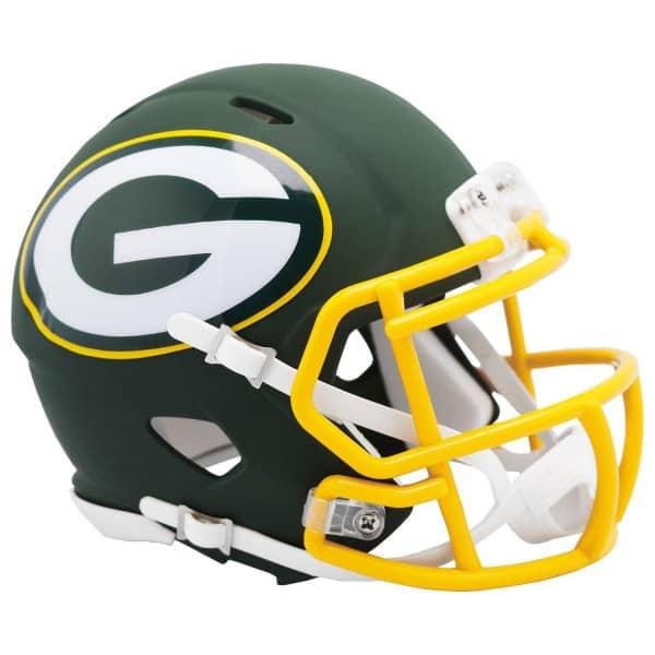 Green Bay Packers AMP Alternate NFL Speed Mini Helm