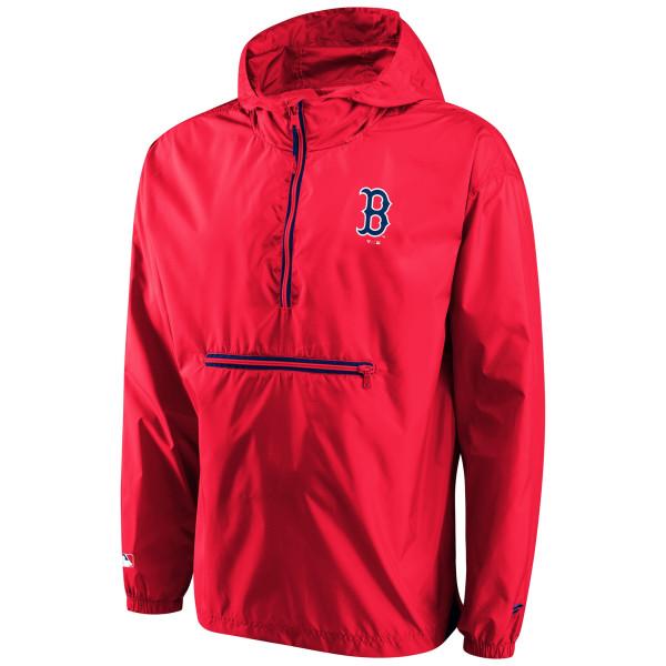 Boston Red Sox Enhanced Sport Lightweight Fanatics MLB Jacke Rot