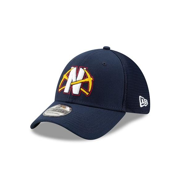 premium selection e12ea 70576 New Era Denver Nuggets 2019 NBA Back Half 39THIRTY Flex Cap   TAASS.com Fan  Shop
