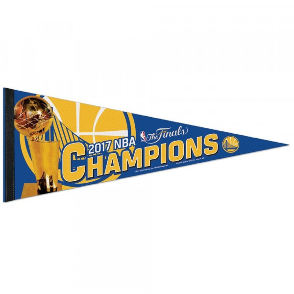 Golden State Warriors 2017 NBA Champs Premium Wimpel
