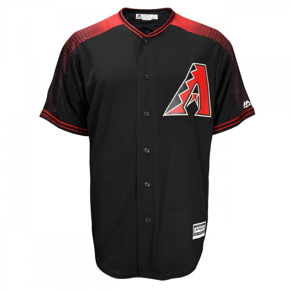 Arizona Diamondbacks Cool Base MLB Trikot Alternate Schwarz