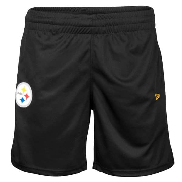f88202de8 New Era Pittsburgh Steelers Performance Jersey NFL Shorts Black ...