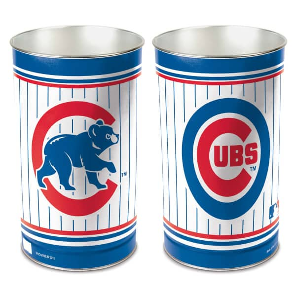 Chicago Cubs Metall MLB Papierkorb