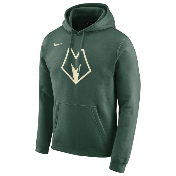 Milwaukee Bucks 2019/20 Nike City Edition NBA Pullover Hoodie