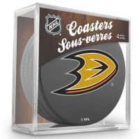 Anaheim Ducks NHL Eishockey Puck Untersetzer (4er Set)