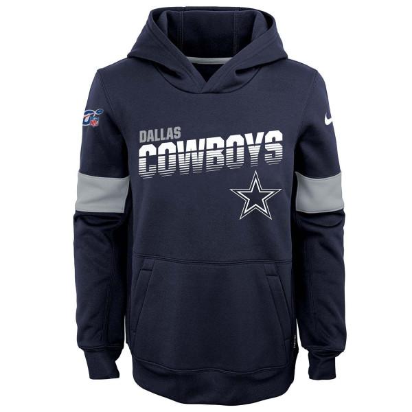 Dallas Cowboys 2019 NFL Sideline Therma Hoodie (KINDER)