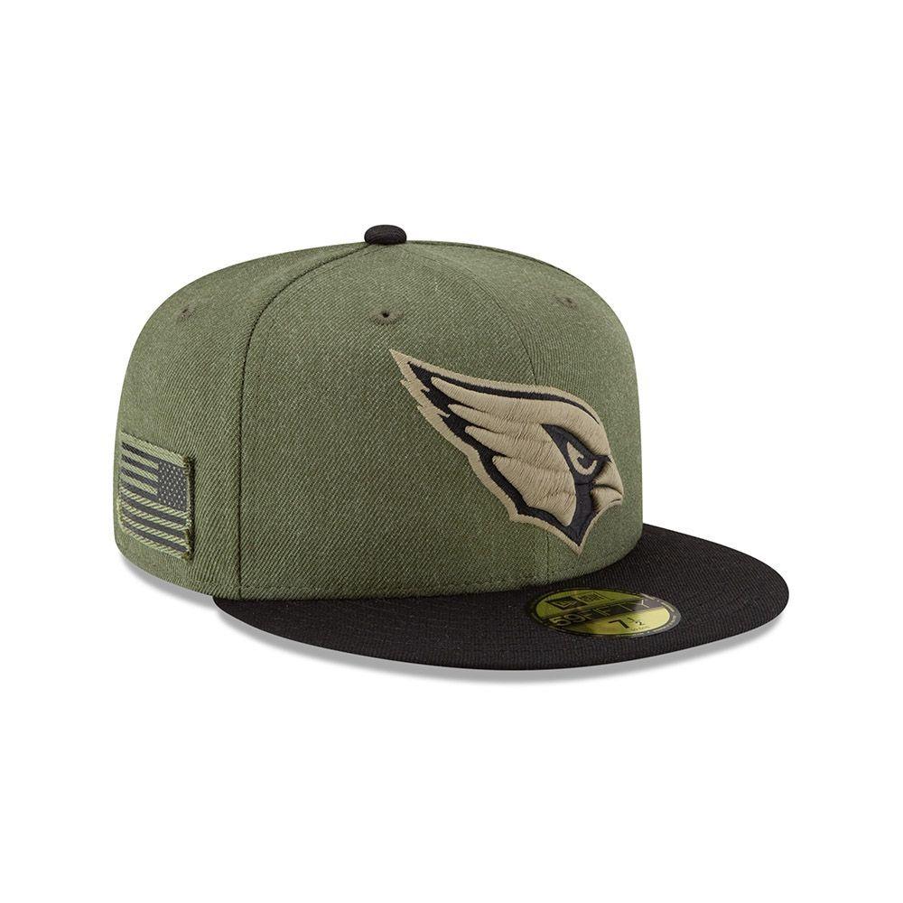 13f16e2acde New Era Arizona Cardinals 2018 Salute to Service 59FIFTY NFL Cap ...