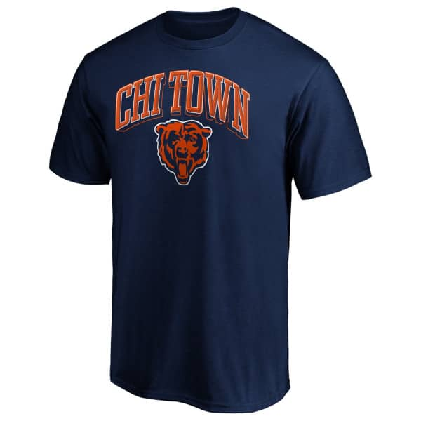 Chicago Bears CHI TOWN NFL T-Shirt