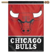 Chicago Bulls Vertical NBA Fahne