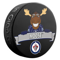 Winnipeg Jets Moose Mascot NHL Souvenir Puck