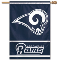 Los Angeles Rams Vertical NFL Fahne