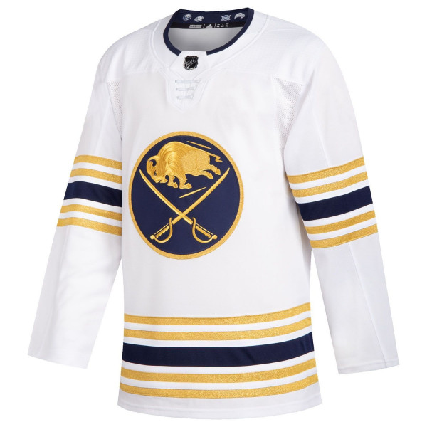 Buffalo Sabres adidas Authentic Pro NHL Trikot 50th Anniversary Alternate Weiß