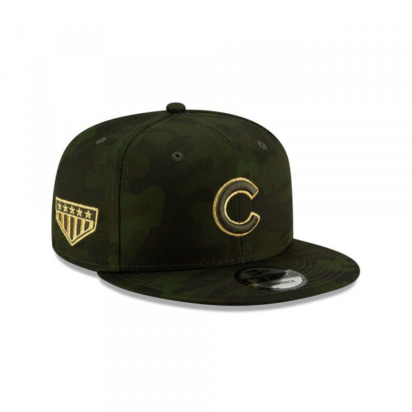 Chicago Cubs 2019 Armed Forces Day 9FIFTY Snapback MLB Cap