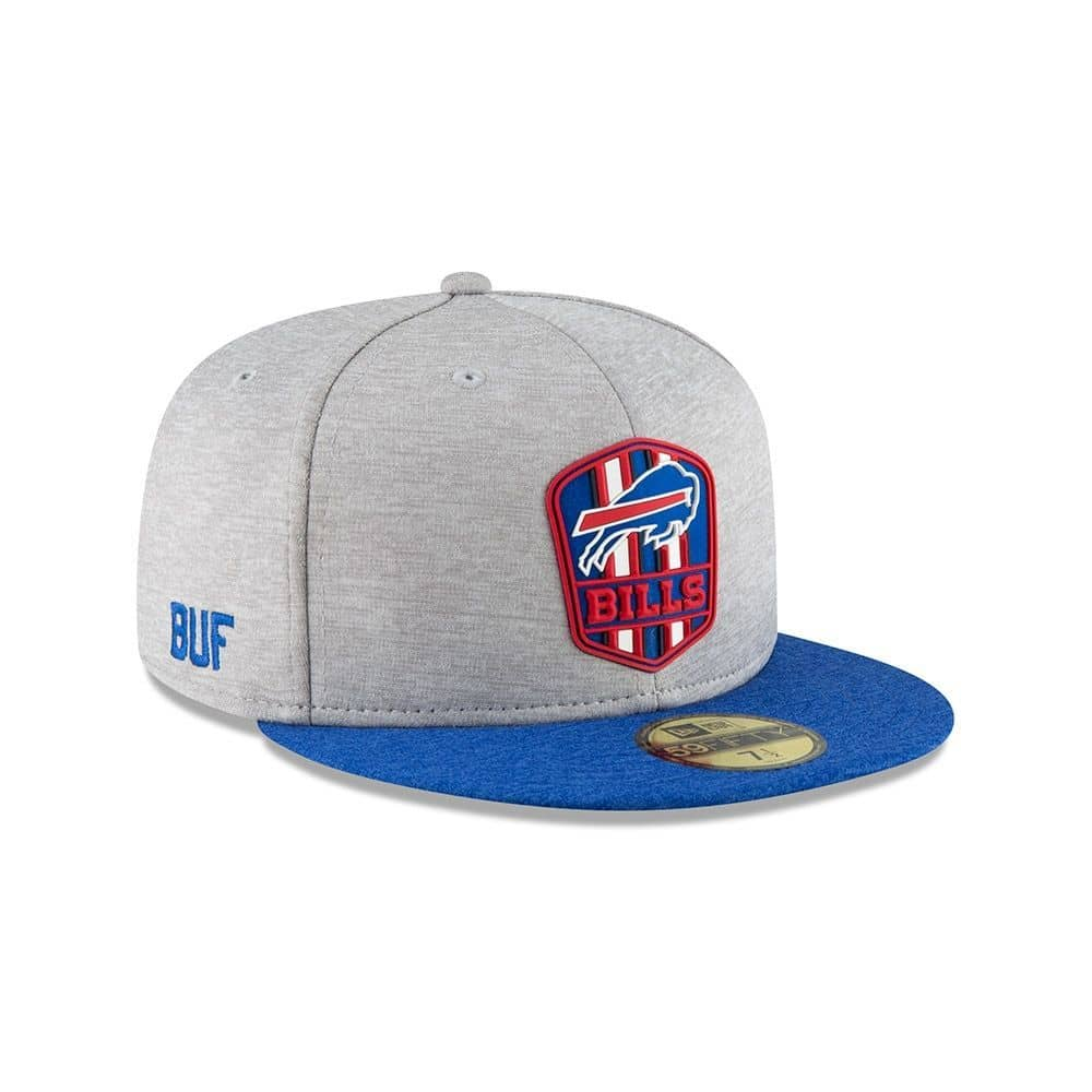 947e736ee New Era Buffalo Bills 2018 NFL Sideline 59FIFTY Fitted Cap Road ...