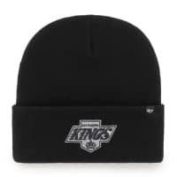 Los Angeles Kings Vintage '47 Haymaker NHL Beanie Wintermütze Schwarz
