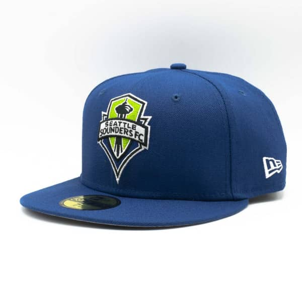Seattle Sounders FC Team Logo New Era 59FIFTY Fitted MLS Cap