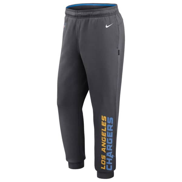 Los Angeles Chargers 2020 NFL Sideline Lockup Nike Therma Jogger Sweatpants