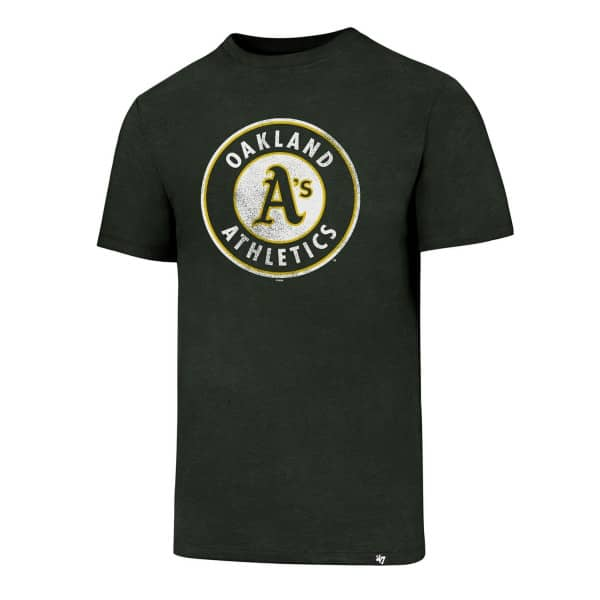 huge discount 39857 7ad74  47 Brand Oakland Athletics Knockaround Club MLB T-Shirt Green   TAASS.com  Fan Shop