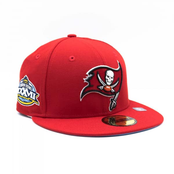 Tampa Bay Buccaneers Super Bowl XXXVII New Era 59FIFTY Fitted NFL Cap Rot