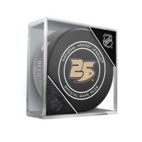 Anaheim Ducks 25th Anniversary NHL Official Game Puck