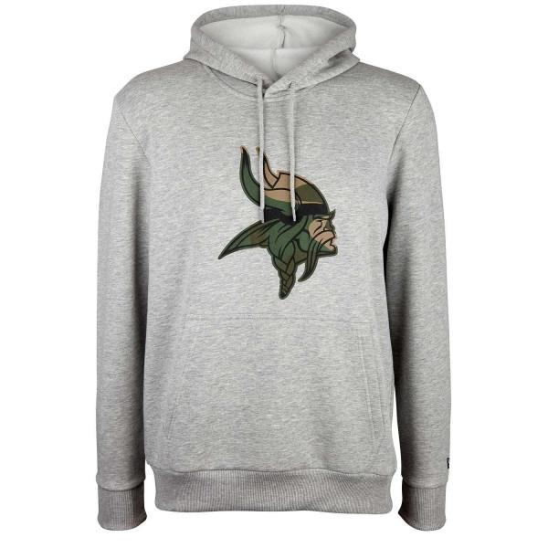 cheaper 0c260 d030a Minnesota Vikings 2019 Camo Logo NFL Hoodie Sweatshirt