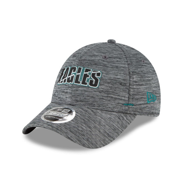 Philadelphia Eagles 2020 Summer Sideline New Era Stretch-Snap 9FORTY NFL Cap Grau