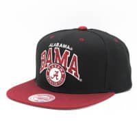 Alabama Crimson Tide Team Arch Snapback NCAA Cap