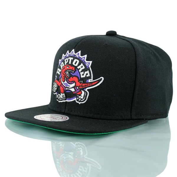 sports shoes 6562d 12be0 Mitchell   Ness Toronto Raptors Wool Solid Snapback NBA Cap Black Throwback    TAASS.com Fan Shop