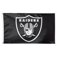 Oakland Raiders Deluxe NFL Hissfahne