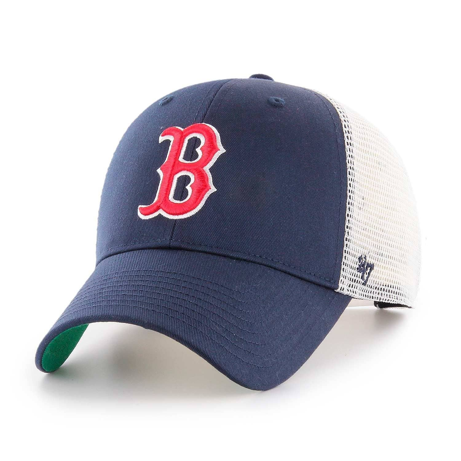 online retailer 39734 2a27e  47 Brand Boston Red Sox Branson MLB Trucker Cap   TAASS.com Fan Shop