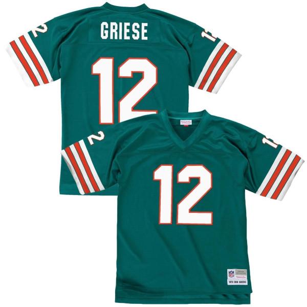 Bob Griese #12 Miami Dolphins Legacy Throwback NFL Trikot