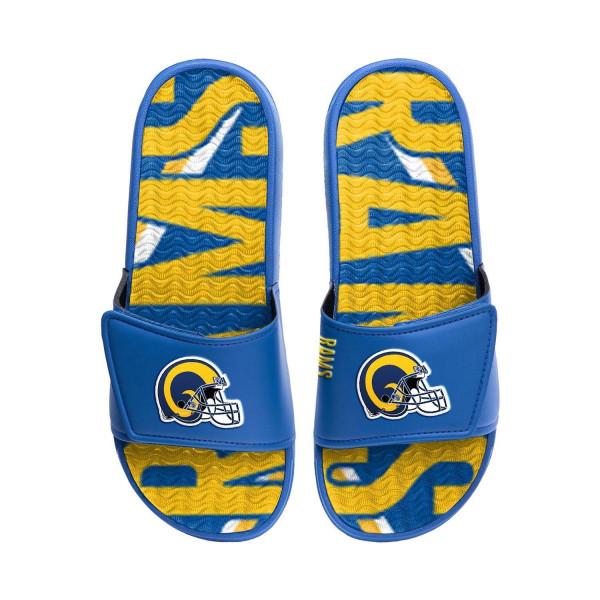 Los Angeles Rams NFL Wordmark Gel Badelatschen