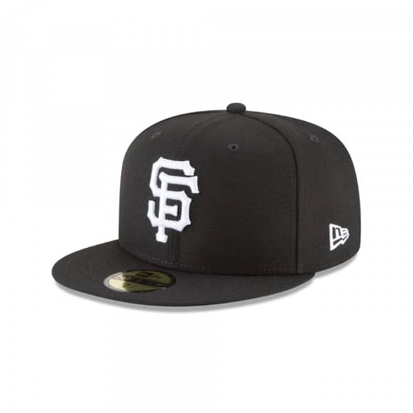 San Francisco Giants Black & White 59FIFTY Fitted MLB Cap